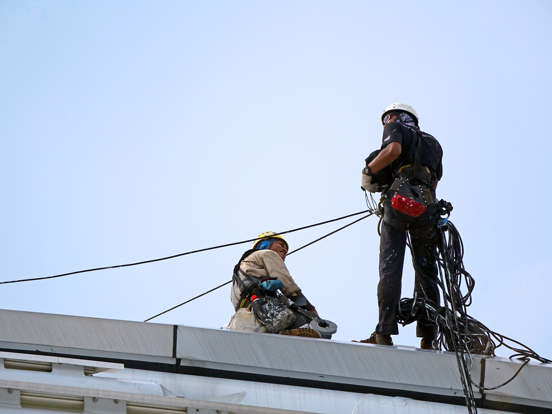 Two Rope Access Technicians, Massachusetts